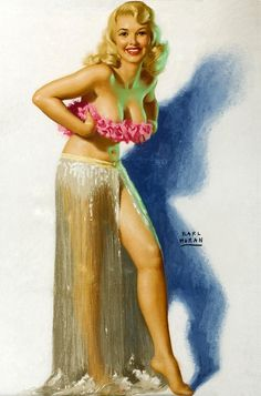 Earl Moran does amazing things with pastels!