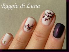 Raggio di Luna Nails: Branch skittlette