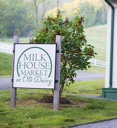 The Milk House Market is located at the Old Dairy, just a quick drive from the Homestead Resort in Hot Springs, VA.