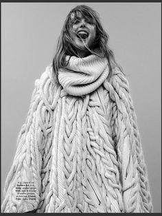 Frida Gustavsson by Stefan Heinrichs Glamour Paris October 2014