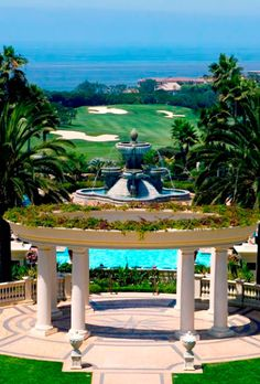 The stunning St. Regis Monarch Beach Resort. For a chance to win a dream wedding at the St. Regis, visit facebook.com/brideslivewedding
