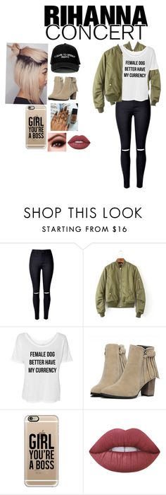 """Untitled #86"" by aalaiya7mendes ❤ liked on Polyvore featuring Manolo Blahnik, Casetify and Lime Crime"