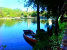 Boa tarde :D A paz e tranquilidade do rio - http://ift.tt/1MZR1pw -