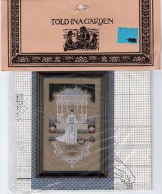 Told In A Garden Cross Stitch Pattern VICTORIAN BRIDE T.G. 31 Buy 1 Get 1  #ToldinaGarden