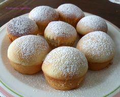 if only I could translate it! Cupcakes, Cake Cookies, Cupcake Cakes, Italian Desserts, Mini Desserts, Italian Recipes, My Dessert, Dessert Recipes, Sweet Cooking