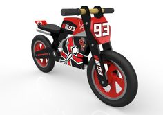 New in this week, Marc Marquez balance bike. All little champions need to have one!
