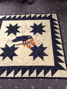 Valerie has been busy making small folk ark quilts for the season. They are all designs by Cherie Paine.              Sh...