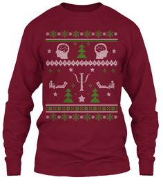 Psychologist Ugly Christmas Sweater!