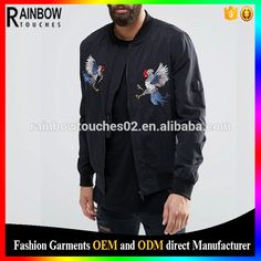 Check out this product on Alibaba.com App:Wholesale Custom Men's Motorbike Embroidered Baseball Nylon Satin Bomber Jacket https://m.alibaba.com/iMvA3y