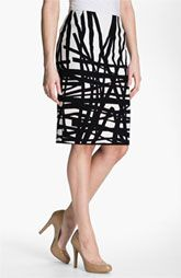 @$348...plan to wear throughout the year, dress up/down  Lafayette 148 New York 'Profound Stroke' Print Skirt available at Nordstrom.