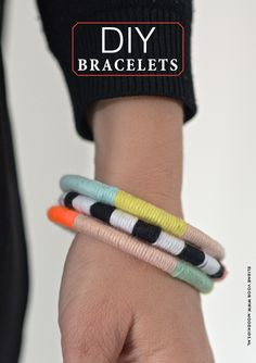 DIY: beautiful and easy bracelet
