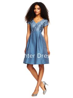 $125.99-Sexy & Modern V-Neck Short Satin Bridesmaid Dress With Short-Sleeves. http://www.ucenterdress.com/a-line-v-neck-short-short-sleeve-satin-bridesmaid-dress-with-appliques-pMK_100252.html.  Shop for long dresses, designer dresses, casual dresses, occasion dresses, backless dresses, elegant dresses, black tie dresses, We have great 2016 bridesmaid dress for sale. Avialble in Gold, Yellow, Pink, Lavender Burgundy, Peach…#UCenterDress.com