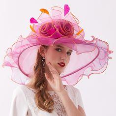 Kentucky Derby Fashion, Kentucky Derby Hats, Kentucky Derby Fascinator, Tea Party Hats, Sun Hats For Women, Fancy Hats, Church Hats, Love Hat, Wide-brim Hat