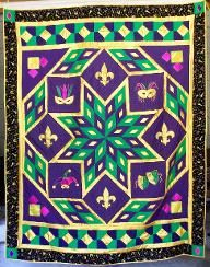 mardi gras quilts - Google Search