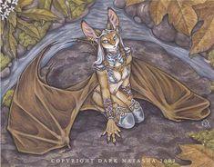 The Art of Dark Natasha - Bat Priestess