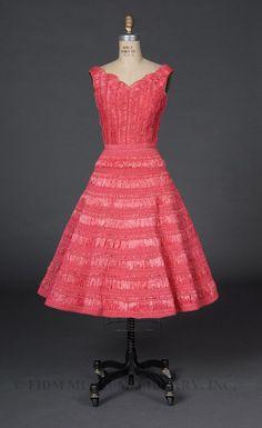 Day Dress  Date:  c. 1954–1955  Designer:  Mayer, Betty