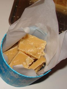 South African style fudge. I am not allowed to have this in the house. I ate more than I gave away last Christmas :)
