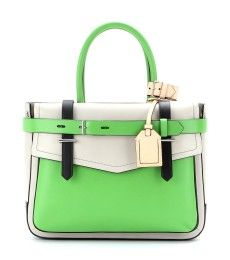 Reed Krakoff - Borsa Boxer in pelle color block