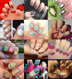 A Bunch Of Different Amazing Nails