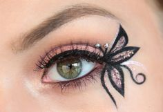 TimeToCreateYourBeauty: Benefit inspired Pink Butterfly ♥