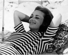Jeanne Moreau in Jules et Jim directed by François Truffaut, 1962