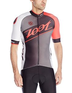 ZOOT Mens Cycle Team Jersey BlackRace Day Red Large >>> Be sure to check out this awesome product.