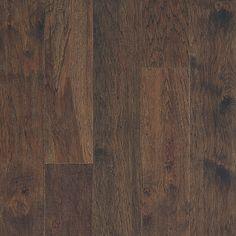Mohawk Industries Trail Blaze Tribal Ridge Wide Handscraped Engineered Hickory Hardwood Flooring - Sold by Carton SF/Carton) Mohawk Hardwood Flooring, Walnut Hardwood Flooring, Hardwood Floor Colors, Hickory Flooring, Solid Wood Flooring, Engineered Bamboo Flooring, Mohawk Industries, Natural Colors, Living Room