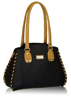 PRICE  Rs.629 Fantosy Women s Handbag (Black) Black Handbags f39348c7b4ca2