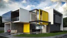 ER-225 #architecture #modern #facade #contemporary #house #design