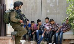 Israel kidnaps, rapes, tortures, and murders children everyday. And Israel is using our Americans money to do it.