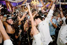 Love this shot from this NYE wedding by @Caroline Anne