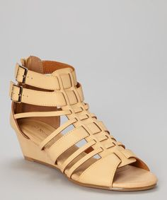 $19.99 (This Event ends in 2 - Days, 23 hours) Love this Beige Memphis Gladiator Sandal http://www.zulily.com/?SSAID=930758&tid=acceleration_930758 #zulily! #zulilyfinds