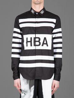 Hood By Air Hockey button down shirt #hoodbyair #hba
