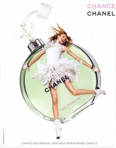 Chanel Chance Eau Fraiche Perfume - The Perfume Girl. Fragrances and colognes from fashion houses and perfume designers. Scent resources, perfume database, and campaign ad photos. Perfume Chanel, Perfume Ad, Perfume Bottles, Chanel Chance Eau Fraiche, Chance Chanel, Best Fragrances, Perfume Collection, Smell Good, Coco Chanel