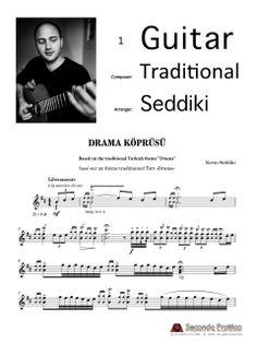 Drama Köprüsü by Seddiki (Edition Drama, Sheet Music, Musica, Traditional, Dramas, Drama Theater, Music Sheets
