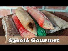 6 RECEITAS DE SACOLÉ (DINDIN) GOURMET | SACOLÉ ARCO-ÍRIS | - YouTube
