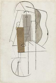 Pablo Picasso. Head. (Spring 1913)