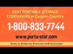 http:& Do you need to rent portable storage in Cheviot Hills California? Call Porta Stor to rent a portable steel container delivered to Chevi.