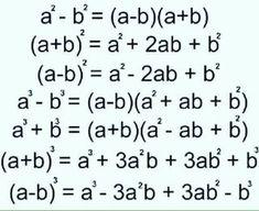 Gcse Math, Maths Algebra, Life Hacks For School, School Study Tips, Math Formula Chart, Math Tutorials, Maths Solutions, Math Notes, Math Vocabulary