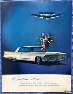 1962 Cadillac Coupe de Ville ad. This is for the advertisement only, not the product(s) shown.   eBay!