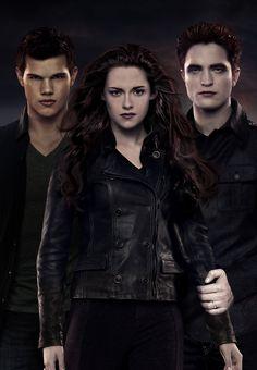 Jacob, Bella and Edward