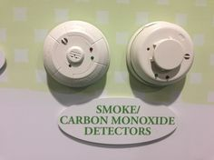 Smoke and Carbon Monoxide Protection, total peace of mind while you're sleeping