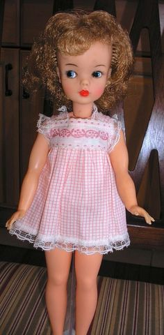 Vintage Ideal Tammy Doll in Sleeptime Top  #DollswithClothingAccessories