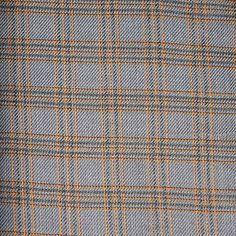 FABRIC24 FASHION WOOL Polyester Plaid Gray by DartingDogSewingShop