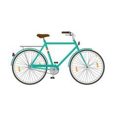 Bike-illustrations by Sebastian Gagin, via Behance