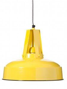 LAMPA WISZĄCA FLUX YELLOW ALURO