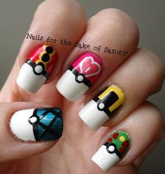 Nails for the Sake of Sanity: Pokemon Challenge: PokeBalls