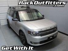 Ford Flex Thule Crossroad SQUARE BAR Roof Rack '08-'14*