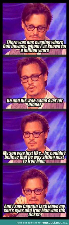 Captain Sparrow vs. Iron Man