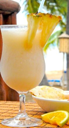 Pina Colada cocktail recipe (and links to other cocktails at the bottom of the page)